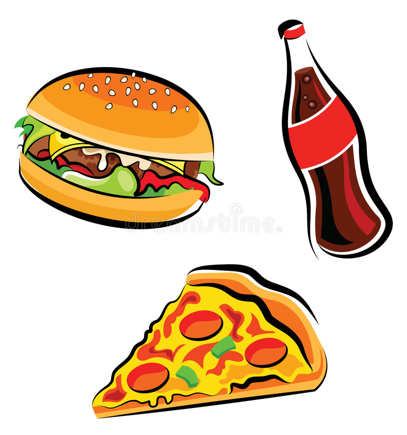 Fast Food vector illustration