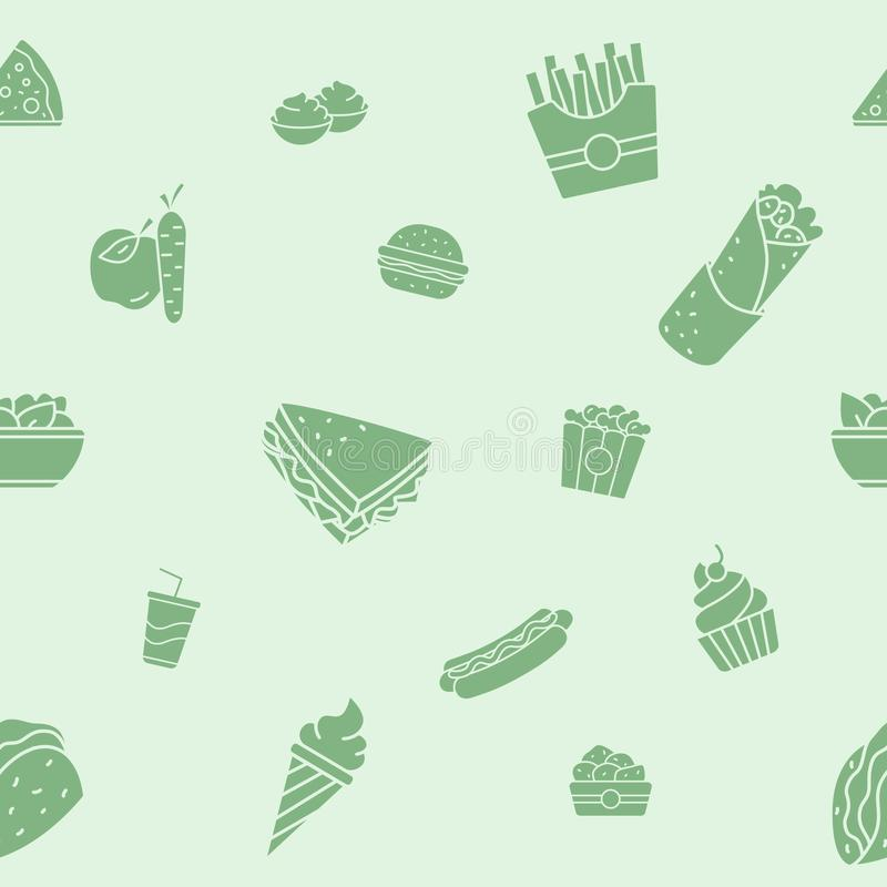 Free Fast Food Background 06 Royalty Free Stock Photos - 161939758