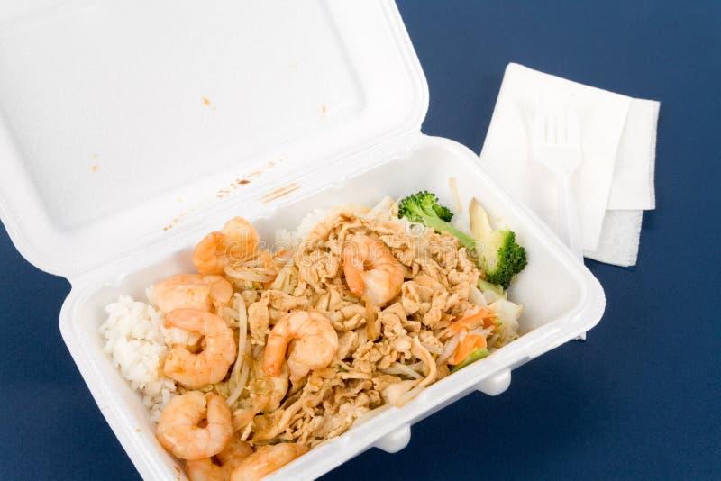 Fast food chinês foto de stock royalty free