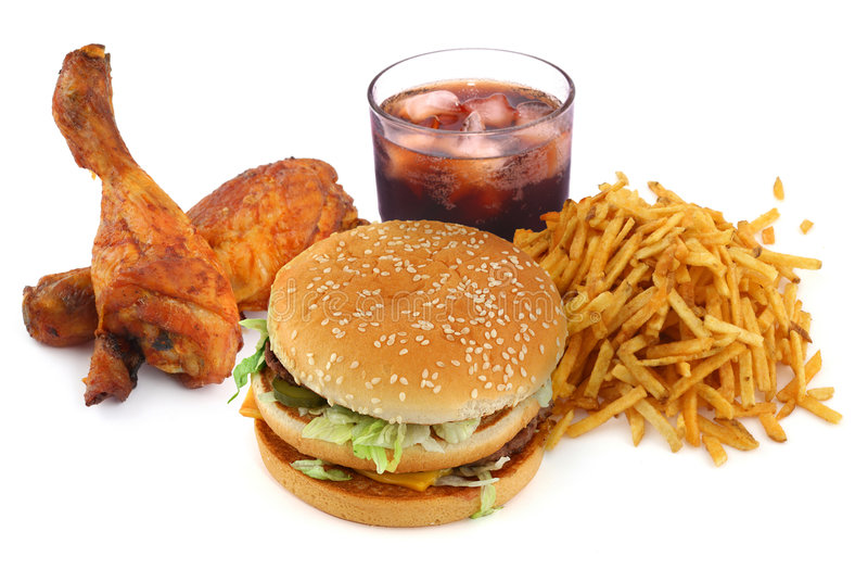 Download Fast food collection stock photo. Image of cola, fries - 6775892