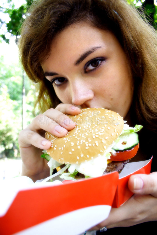 Fast food de Easting foto de stock royalty free