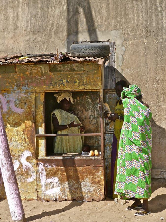 Fast food de Senegalian imagem de stock royalty free