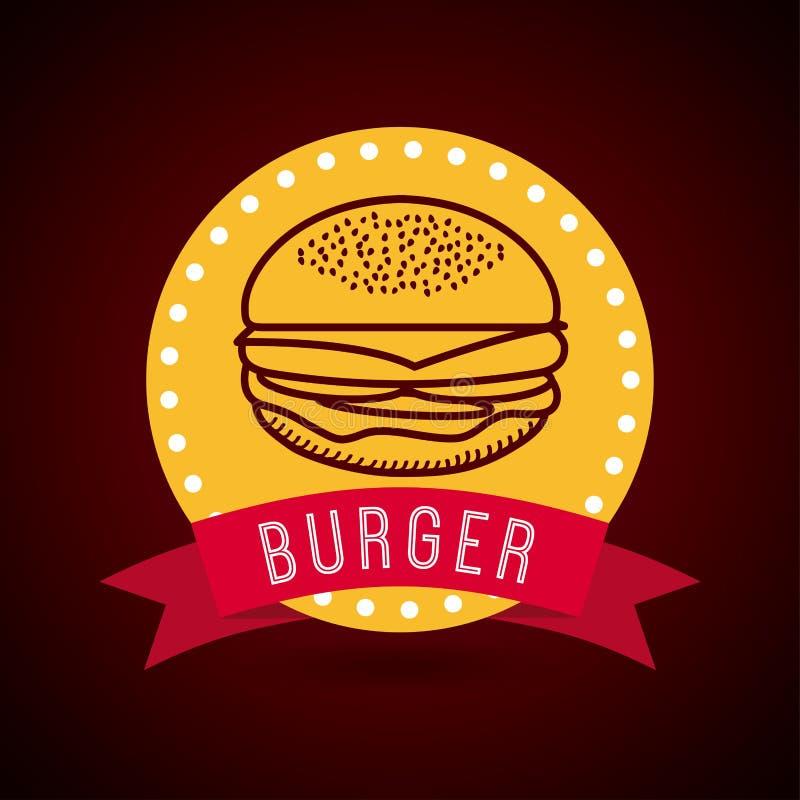 Fast food stock illustration