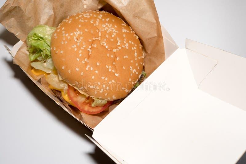fast food di Amburgo fotografia stock