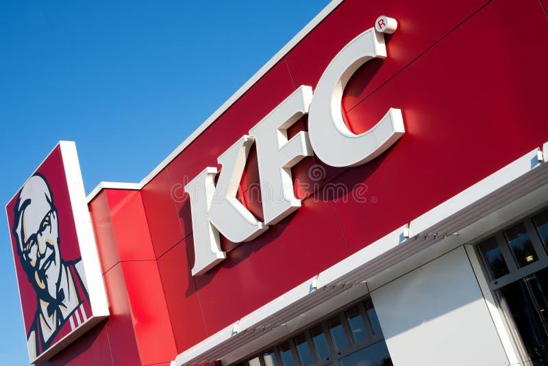 Fast food di KFC immagine stock