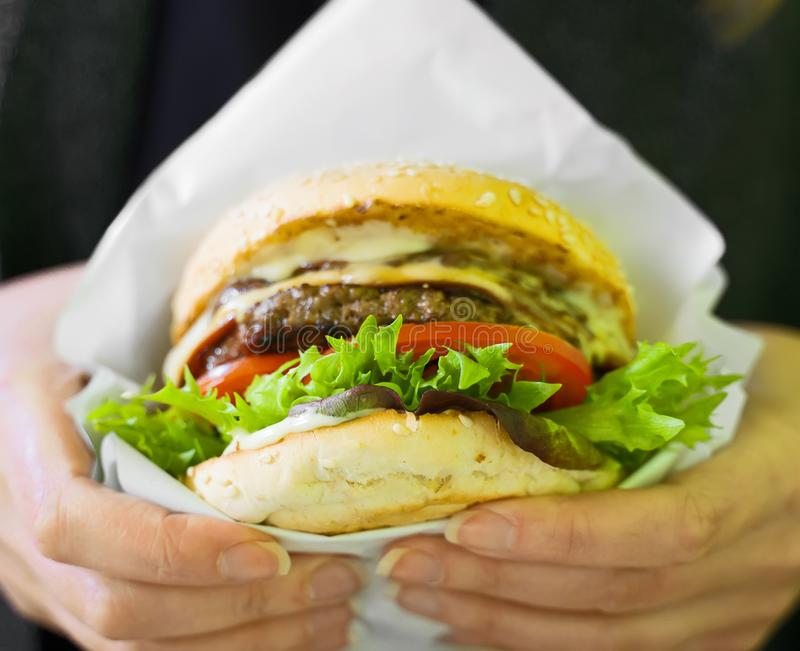 Fast food. royalty free stock photo