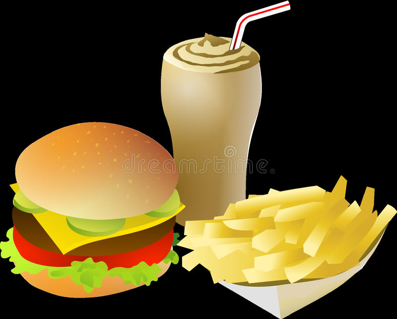 Fast Food, Food, Junk Food, Product Design royalty free stock images