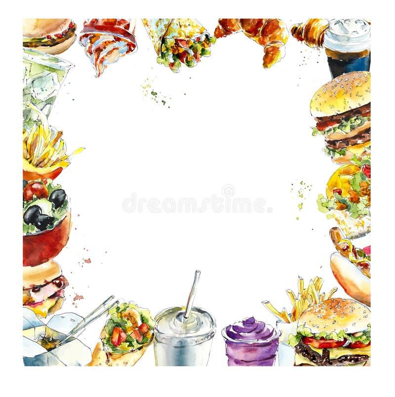 Food Clip Art Borders Landscape