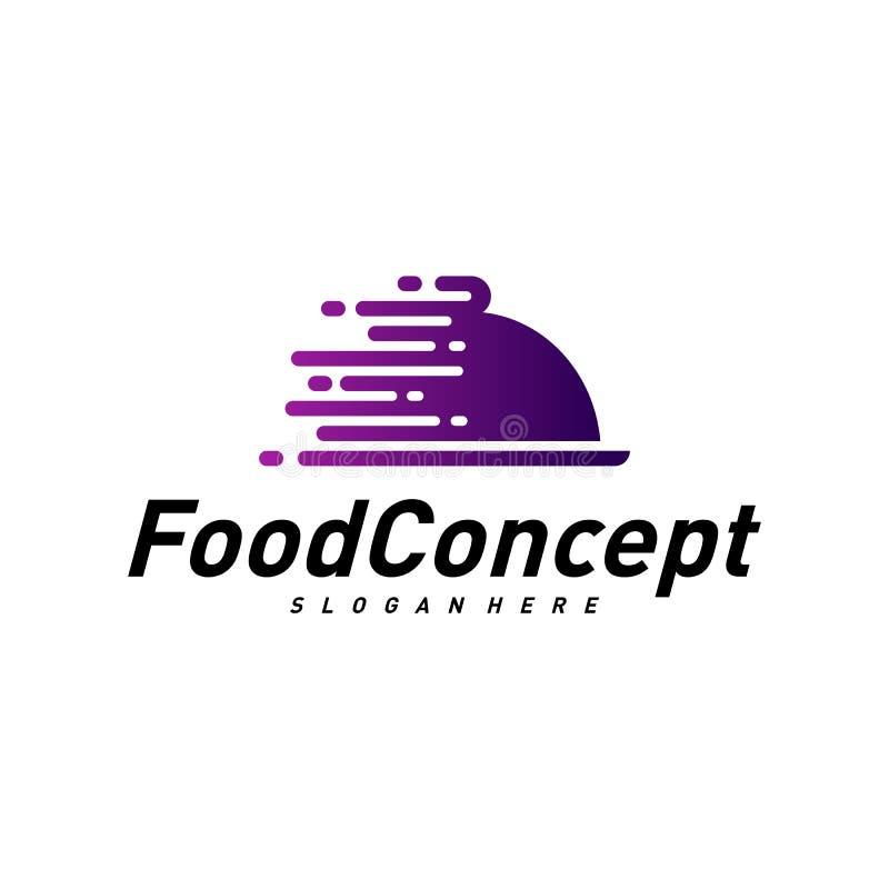 Fast food Logo Concept Vetora Cozinhando o vetor do molde do projeto do logotipo S?mbolo do ?cone ilustração do vetor