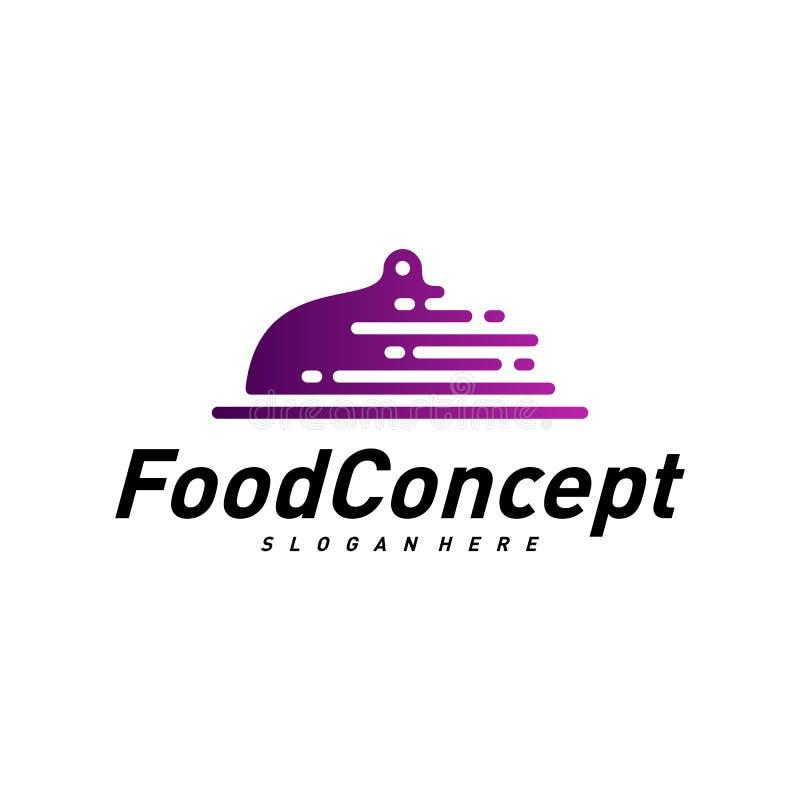 Fast food Logo Concept Vetora Cozinhando o vetor do molde do projeto do logotipo S?mbolo do ?cone ilustração royalty free