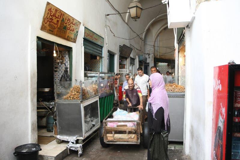 Fast food no medina fotografia de stock royalty free