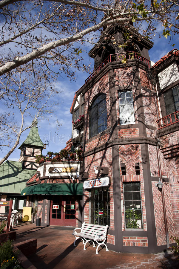 Fast Food Solvang California royalty free stock photography