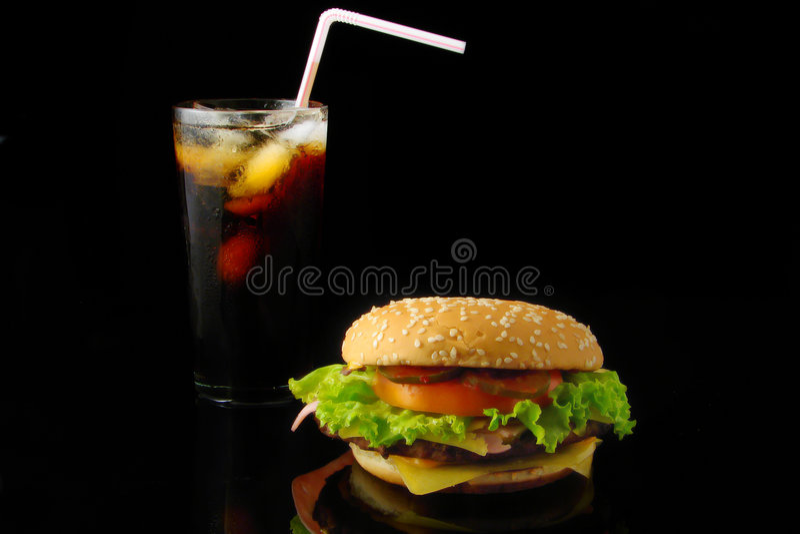 fast foody obraz royalty free
