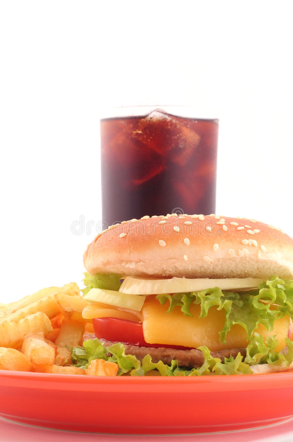fast foody fotografia stock