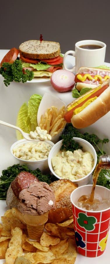 fast foody zdjęcie stock
