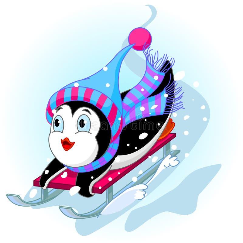 Free Fast Fun Penguin Stock Photography - 12268552