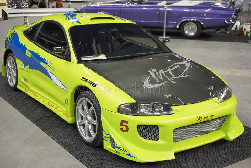Fast and furious car stock images