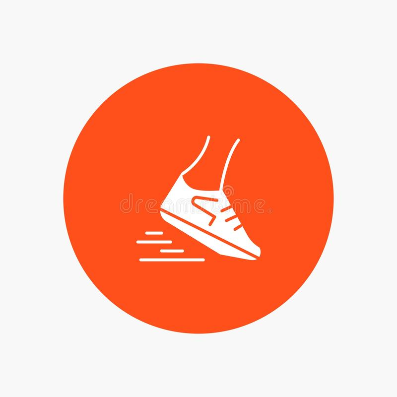 Fast, Leg, Run, Runner, Running vector illustration