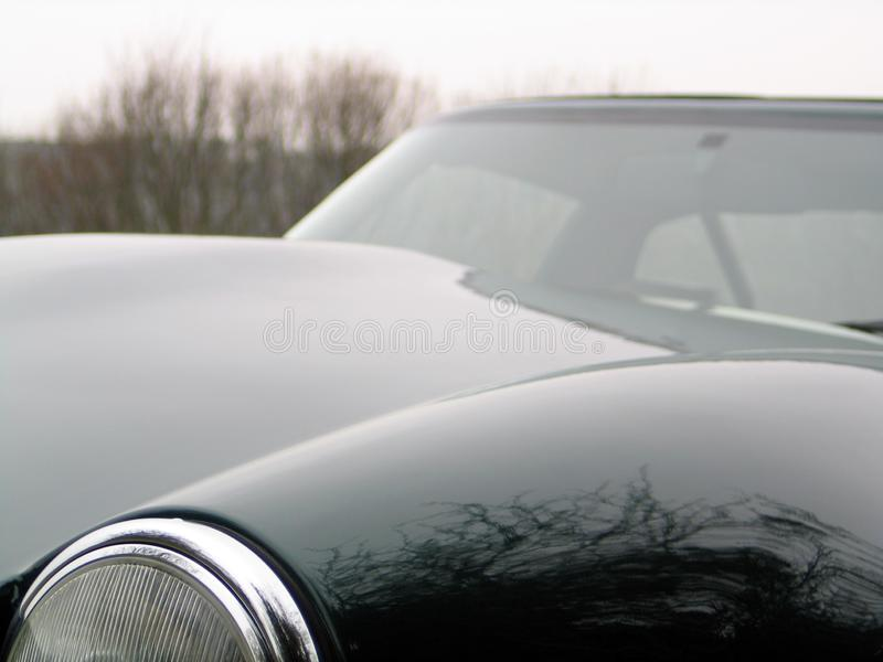 Fast luxury sports car stock photos