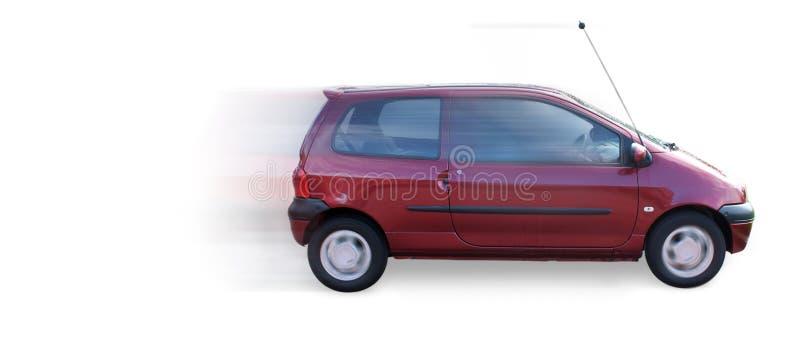 Fast Mini Car twingo royalty free stock photos