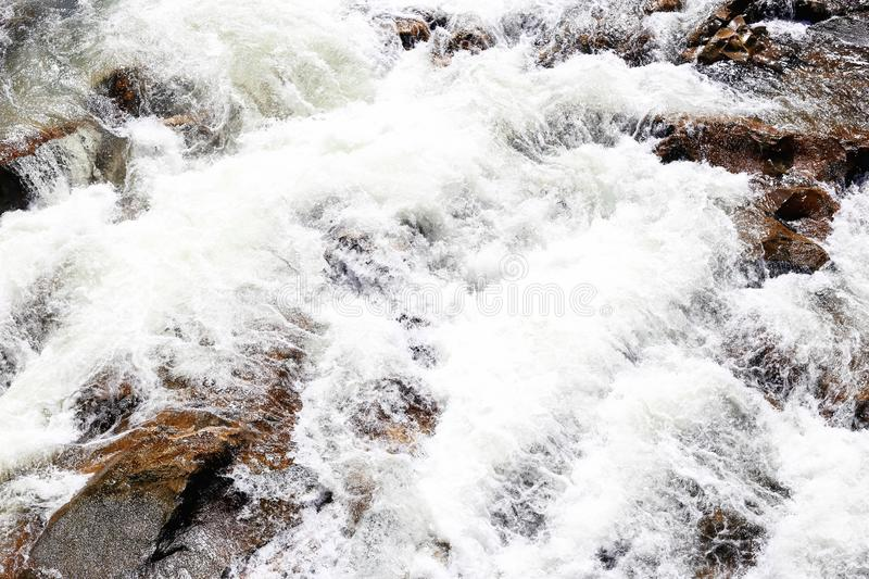 Fast mountain stream royalty free stock image