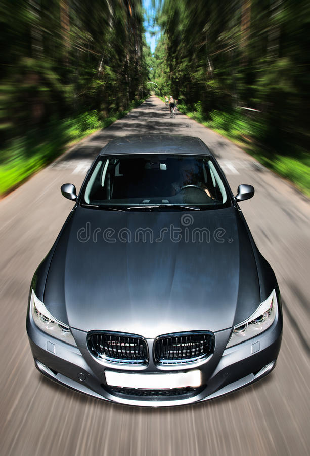 Download Fast moving car stock image. Image of driving, street - 21572505
