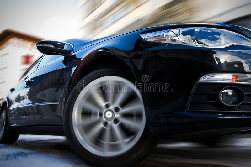 Download Fast moving car stock photo. Image of faster, driveway - 7800680