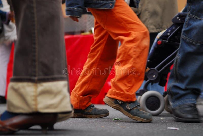 Fast Pedestrian royalty free stock photos