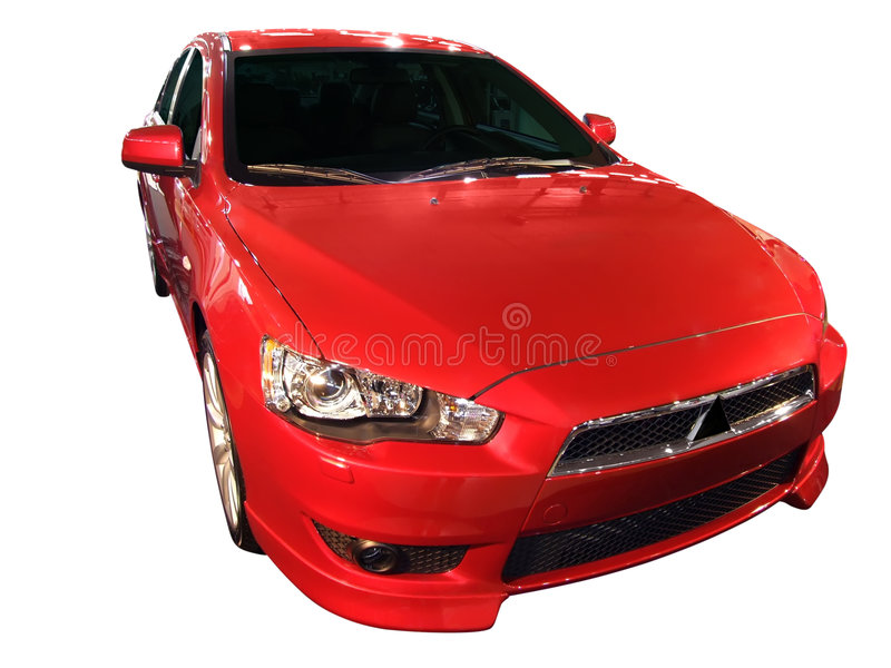 Fast Red Car Stock Images