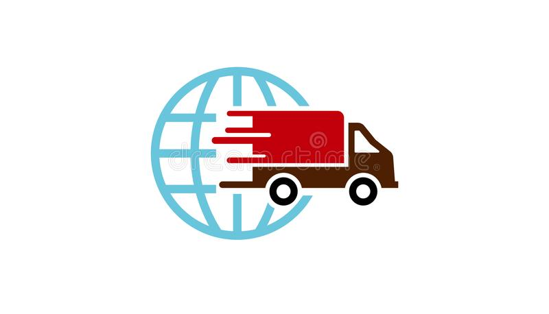 fast shipping truck logo stock vector illustration of available rh dreamstime com truck logos and names truck logo decals