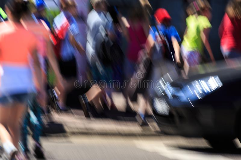 Fast speed of life royalty free stock photos