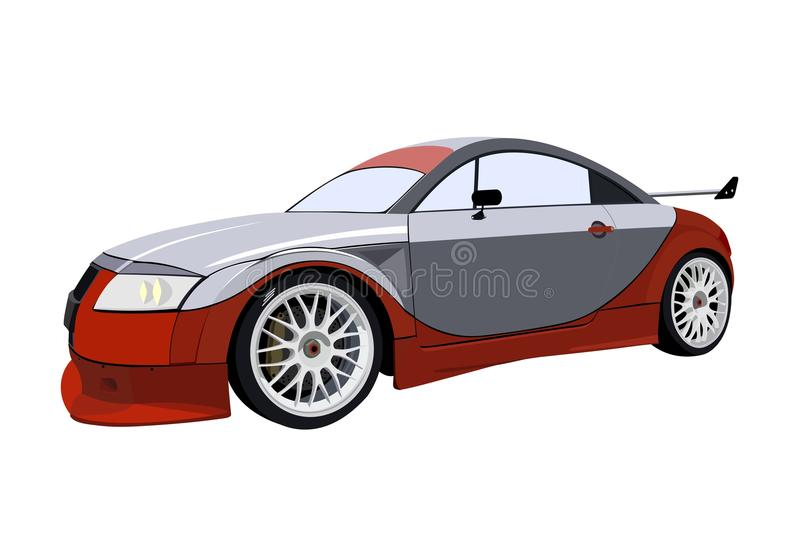 Download Fast sport racing car stock vector. Illustration of automobile - 27408873