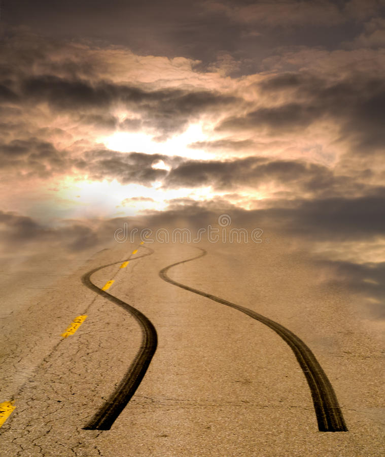 Fast Track to Heaven royalty free stock photo