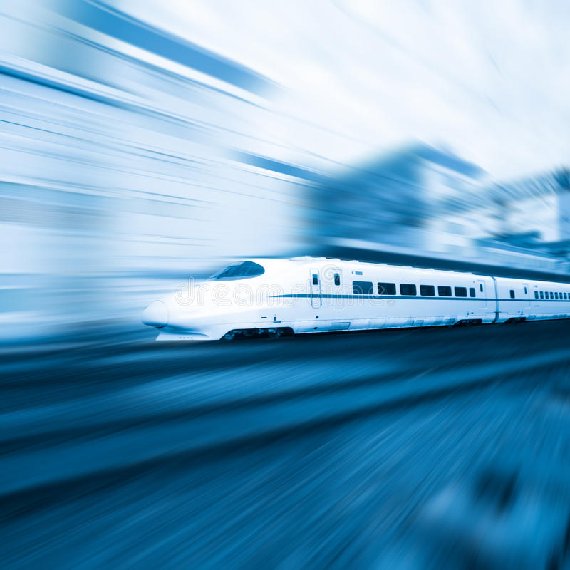 Download Fast train stock image. Image of people, business, platform - 20403691