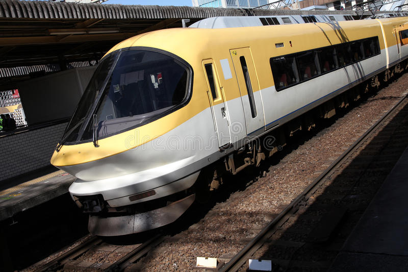 Download Fast train stock image. Image of technology, yellow, fast - 25233515