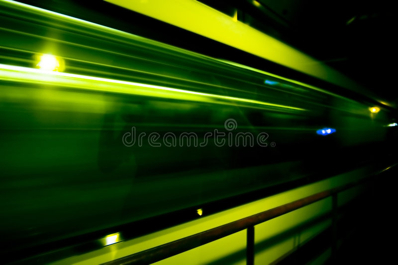 Fast train. Abstract of fast train with motion blur stock photos