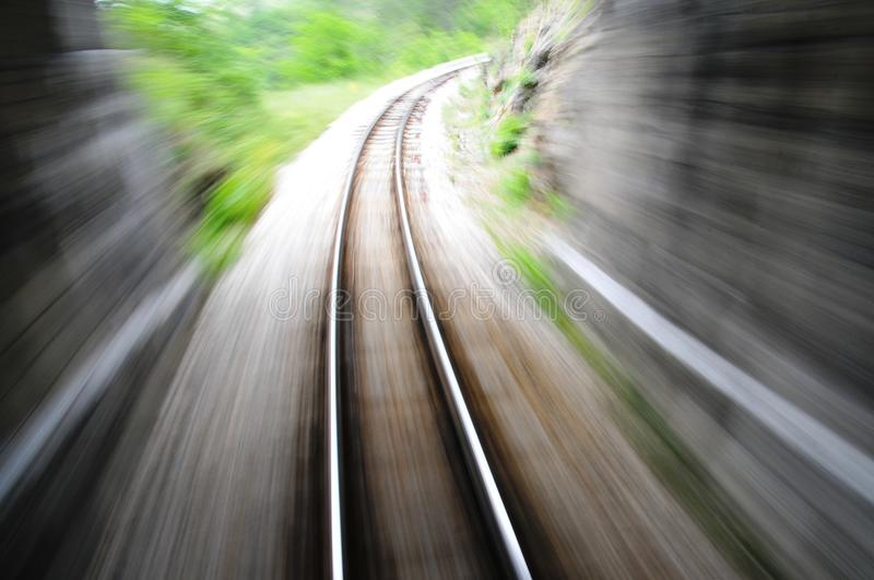 Download Fast train blurred stock image. Image of passage, locomotive - 17011837