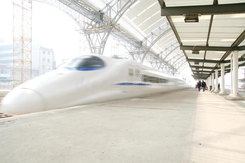 Download Fast train in motion stock photo. Image of train, technology - 11877626