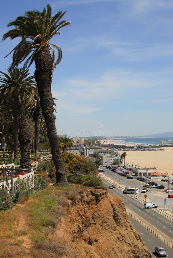 Fast utgift i Santa Monica royaltyfria foton
