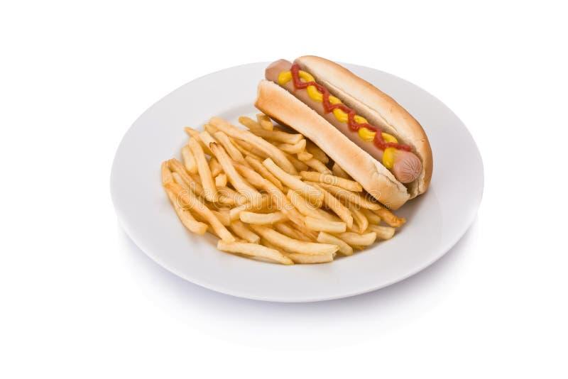 fasta food posiłek fotografia stock
