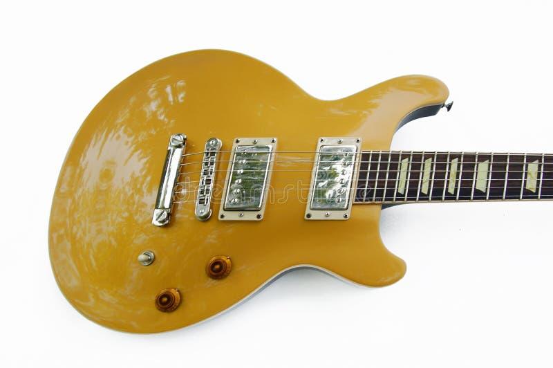 Fasta gitarren arkivbilder