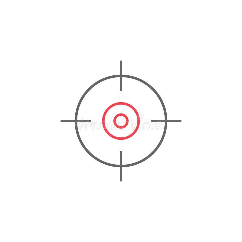 Fasta symbol, navigering och gps för läge stock illustrationer