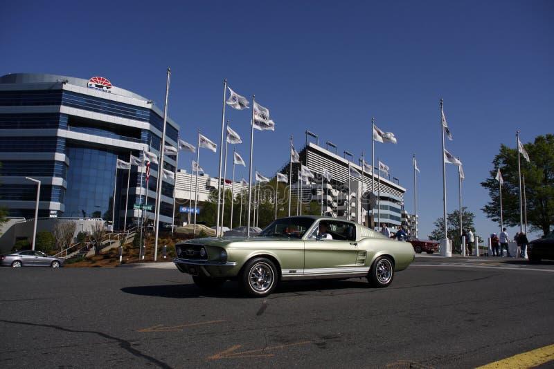 Fastback 1967 Ford Mustangs GT stockfotografie