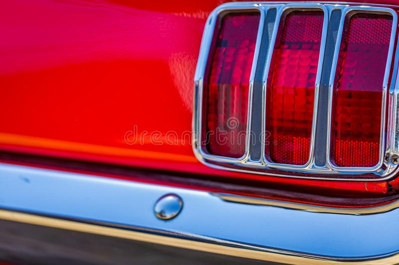 Fastback 1965 Ford Mustangs 2plus2 stockfoto