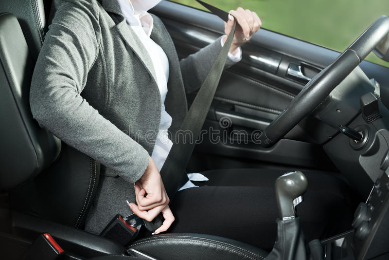 Fasten your seat belt royalty free stock photography