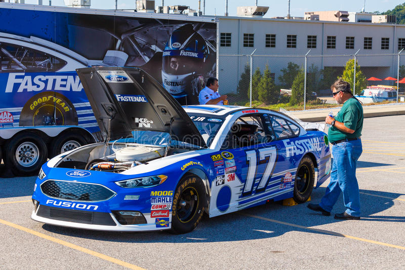 Fastenal NASCAR стоковые фото