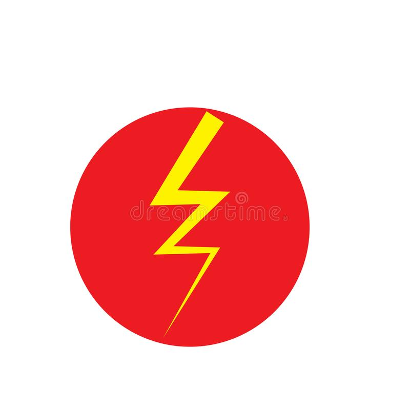 Faster Logo Template vector icon illustration. Design, abstract, arrow, art, battery, bolt, charge, dark, electric, electrical, electricity, electronic vector illustration