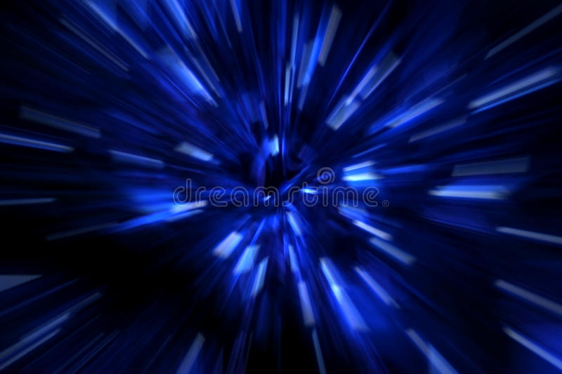 Faster than the speed of light royalty free stock images