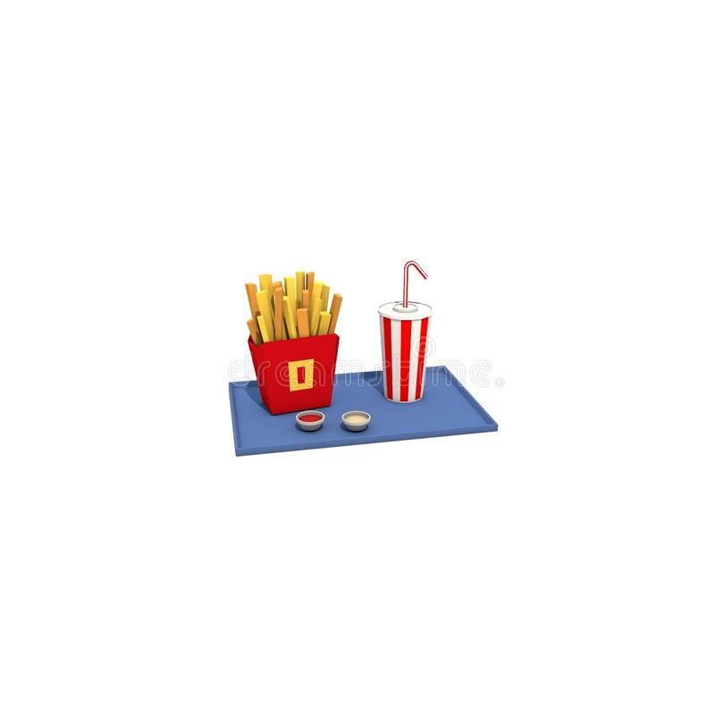 Fastfood stockbilder