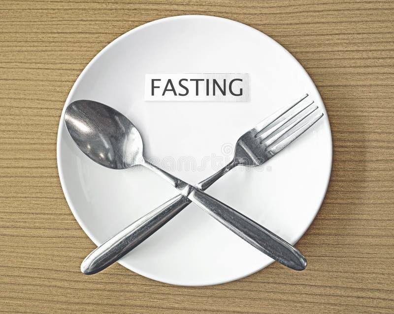 fasting imagem de stock